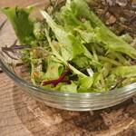 キッチネッテ - ランチセットのサラダ