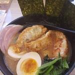 かっぱ寿司 - ひと皿限定武蔵家全部のせトッピング649円