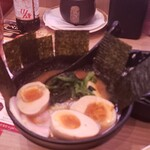 かっぱ寿司 - ひと皿限定武蔵家マシマシトッピング+煮卵759円
