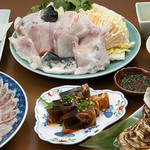 旬肴ふく堀田 - コース料理_フグ