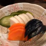 うなちゃん - うなちゃん(お新香)