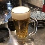 焼きはまぐりSTAND - 生ビール