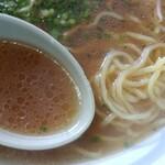 えぞっ子ラーメン - スープ麺アップ