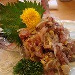 渡辺鮮魚 - アジたたき