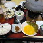 サガミ - かつ鍋定食 ¥1580?