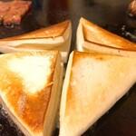 お好み焼ポン吉 - チーズはんぺん