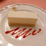 ピッツェリア・サバティーニ - チーズケーキ