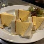 Kissamadoragu - コロナの玉子サンドイッチ 800円