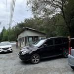 丸美屋自販機コーナー - 駐車場も県外Noで満車