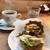 クルミドコーヒー - 料理写真:クルミドサンド