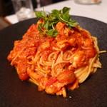 蘇山荘 - オマール海老のトマトソーススパゲッティ