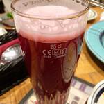 St.Bernardus - チェリー果汁の赤い色がとても美しいビール