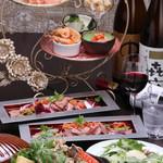 創作料理 BASARA CAFE DINING - 忘年会コース