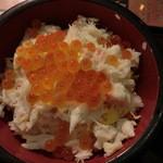 12019430 - 蟹いくら丼セット