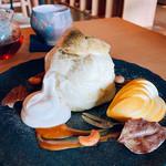 エンガワ - 梨と和紅茶のパンケーキ