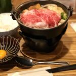 120193871 - すき焼き定食肉ダブル