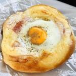 夢パン工房 - マヨネーズとハムエッグがお惣菜パンの王道です( ^ω^ )♡
