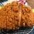 とんかつ 檍 札幌 - 料理写真:「特ロースカツカレー」の特ロースカツ。