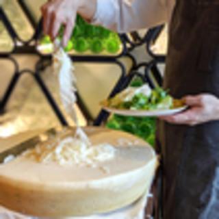その場でチーズは削りたて、こんなイタリアンが食べたかった!