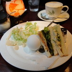 ギオン - 2012年3月再訪 サンドモーニング