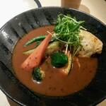 スープカレー専門店 ごうや - やわらかチキン野菜 辛さ10番