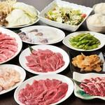 小羊樓 - 特選ジンギスカンコース3500円(税込