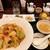 広東炒麺 南国酒家 - 料理写真:五目焼きそばセット
