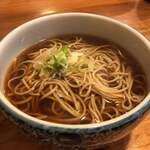 田代庵 - 料理写真:かつ丼セットのそば