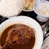食事処こまつ - 料理写真:鶏ももから~いカレー煮込み定食(950円)