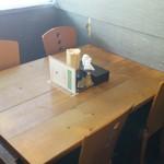 和風らーめん 凪 - テーブル席