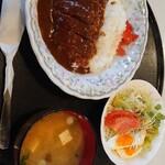 イーグル - 料理写真:カツライス【みそ汁付】