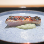 山﨑 - キンキの炭火焼き