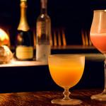 bar 松虎 - 女性に人気の旬のフルーツを使ったカクテル