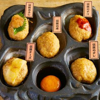 ■国産鶏を使用したつくねや炙り焼きを美味しいお酒と一緒に■