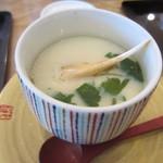 かね喜廻鮮寿司 - 茶碗蒸し