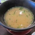 かね喜廻鮮寿司 - アサリ汁