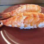 かね喜廻鮮寿司 - 蒸し海老