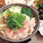 菜々家 - 期間限定 塩こうじ生姜鍋
