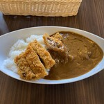 道の駅 村岡ファームガーデン - 料理写真:カツカレーです