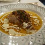 メインダイニング - 鮮魚(金目鯛)のカフェドパリ 3500円