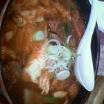 焼肉屋和楽 - 料理写真:カルビラーメン 610円