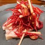120244585 - 播州赤鶏のサラダ