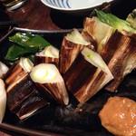 葱や平吉 - 下仁田葱の黒焼き