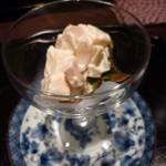 馳走 かく田 - <2012年3月>前菜:桜白酢和え