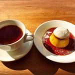カフェ フオネ - プリンと紅茶