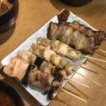 鎌倉酒店 - ねぎま、ささ身わさび、豚バラ串