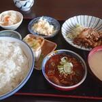 せき食堂 - 料理写真:がっつりセット豚カルビ焼きご飯大盛り