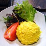 日向 - カレー風味のポテトサラダ