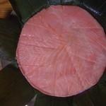 味の山正 - ⑤きれいなピンクの鱒