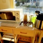 ベーカリー・オーディナリー・デイ - レンジもあるしコーヒーは無料サービス